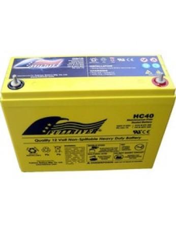 Μπαταρία FULLRIVER HC 40-12 VRLA - AGM τεχνολογίας -12V 40Ah