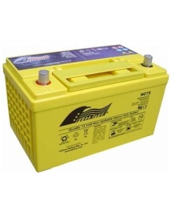 Μπαταρία FULLRIVER HC 75X-12 VRLA - AGM τεχνολογίας -12V 75Ah