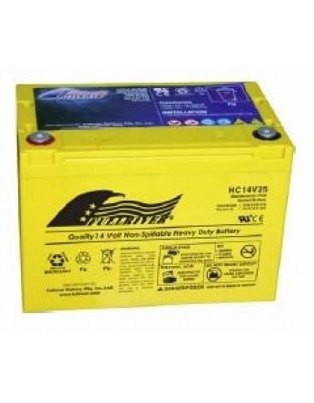 Μπαταρία FULLRIVER HC 14V25 VRLA - AGM τεχνολογίας -14V 25Ah