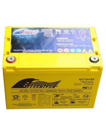 Μπαταρία FULLRIVER HC 16V50 VRLA - AGM τεχνολογίας -16V 50Ah