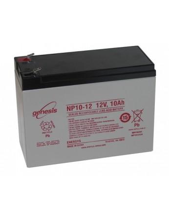 Μπαταρία GENESIS NP10-12 VRLA - AGM τεχνολογίας - 12V 10Ah