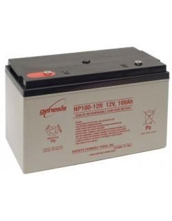 Μπαταρία GENESIS NP100-12 VRLA - AGM τεχνολογίας - 12V 100Ah