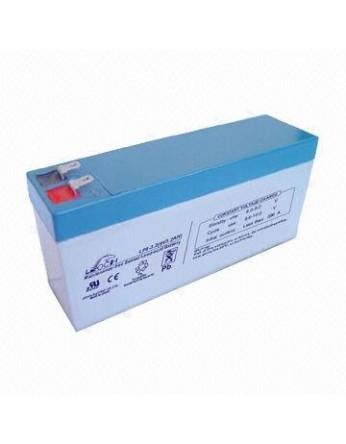 Μπαταρία Leoch 3,2- 8 VRLA - AGM τεχνολογίας - 8V 3,2Ah