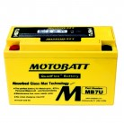 Μπαταρία μοτοσυκλετών MOTOBATT MB7U - 12V 6.5 (10HR)Ah - 100CCA εκκίνησης