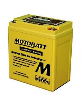 Μπαταρία μοτοσυκλετών MOTOBATT MBTX7U - 12V 8 (10HR)Ah - 115CCA εκκίνησης