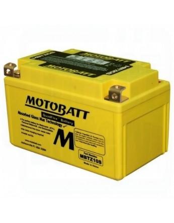 Μπαταρία μοτοσυκλετών MOTOBATT MBTZ10S - 12V 8.6 (10HR)Ah - 190CCA εκκίνησης