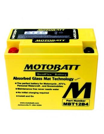 Μπαταρία μοτοσυκλετών MOTOBATT MBT12B4 - 12V 11 (10HR)Ah - 175CCA εκκίνησης