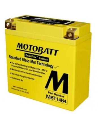 Μπαταρία μοτοσυκλετών MOTOBATT MBT14B4 - 12V 13 (10HR)Ah - 210CCA εκκίνησης