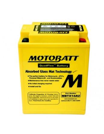 Μπαταρία μοτοσυκλετών MOTOBATT MBTX14AU - 12V 16.5 (10HR)Ah - 210CCA εκκίνησης
