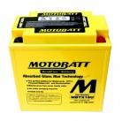 Μπαταρία μοτοσυκλετών MOTOBATT MBTX16U - 12V 19 (10HR)Ah - 250CCA εκκίνησης