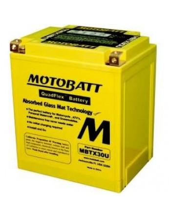 Μπαταρία μοτοσυκλετών MOTOBATT MBTX30U - 12V 32 (10HR)Ah - 390CCA εκκίνησης