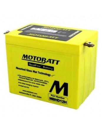 Μπαταρία μοτοσυκλετών MOTOBATT MBHD12H - 12V 33 (10HR)Ah - 390CCA εκκίνησης
