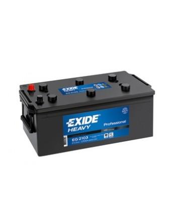 Μπαταρία Exide Professional EG2153 - 12V 215Ah - 1200CCA A(EN) εκκίνησης