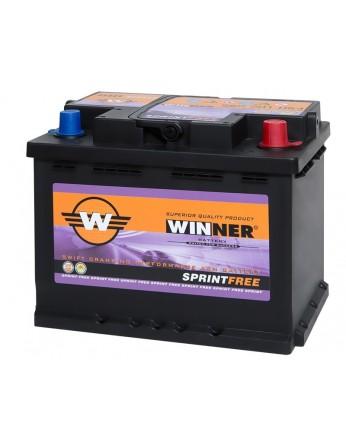 Μπαταρία αυτοκινήτου Winner Sprintfree 560 901 064 - 12V 60Ah - 640CCA(EN) εκκίνησης