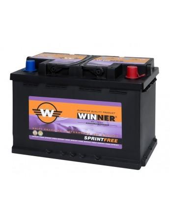 Μπαταρία αυτοκινήτου Winner Sprintfree 570 901 076 - 12V 70Ah - 760CCA(EN) εκκίνησης