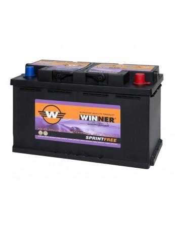 Μπαταρία αυτοκινήτου Winner Sprintfree 580 901 080 - 12V 80Ah - 800CCA(EN) εκκίνησης