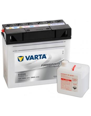 Μπαταρία μοτοσυκλετών Varta ανοιχτού τύπου Freshpack 51913 - 12V 19Ah - 100 CCA (EN) εκκίνησης