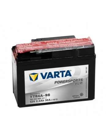 Μπαταρία μοτοσυκλετών Varta κλειστού τύπου AGM YTR4A-BS - 12V 2.3Ah - 30 CCA (EN) εκκίνησης