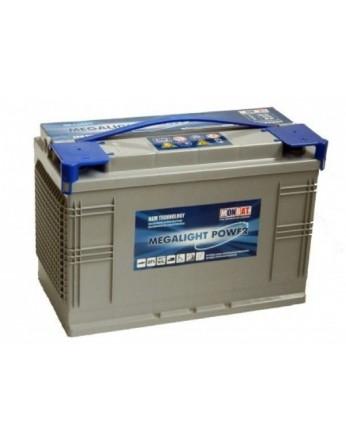 Μπαταρία Monbat Megalight Power ML1200C Deep Cycle AGM - 12V 100Ah(C100)