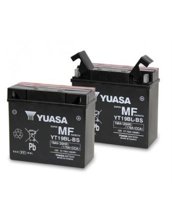 Μπαταρία μοτοσυκλετών YUASA Maintenance Free YT19BL-BS - 12V 17.7 (10HR)Ah - 170 CCA(EN) εκκίνησης