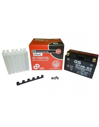 Μπαταρία μοτοσυκλετών GS AGM GT9B-BS - 12V 8Ah (10HR) - 115 CCA(EN) εκκίνησης (με υγρά).