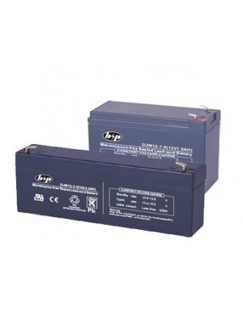Σετ μπαταριών συναγερμού B&P DJW 12V 7Ah (πίνακας) & DJW 12V 2.3Ah (σειρήνα) VRLA - AGM τεχνολογίας.