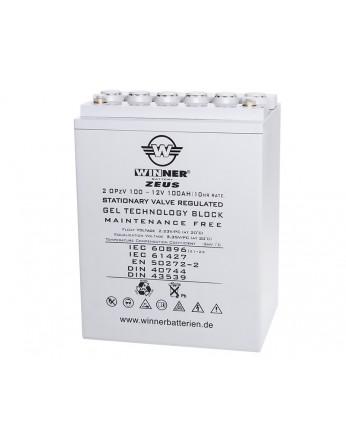 Μπαταρία Gel τεχνολογίας Winner Zeus 12V 1 OPzV 50 - 12V 50Ah(C20)