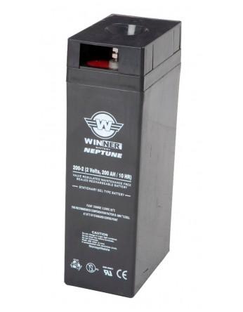 Μπαταρία Agm τεχνολογίας Winner Neptune 2000-2 / 2V 2000Ah (C10)