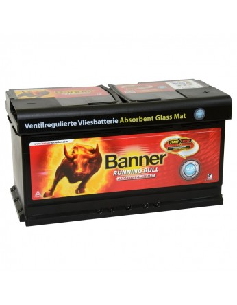 Μπαταρία τεχνολογίας AGM Banner Running Bull 59201 12V 92Ah (C20) - 850CCA εκκίνησης