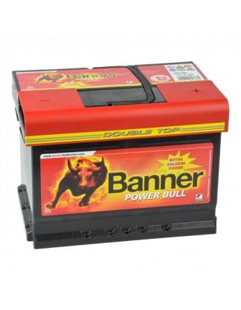 Μπαταρία κλειστού τύπου Banner Power Bull P6205 12V 62Ah (C20) - 540CCA εκκίνησης