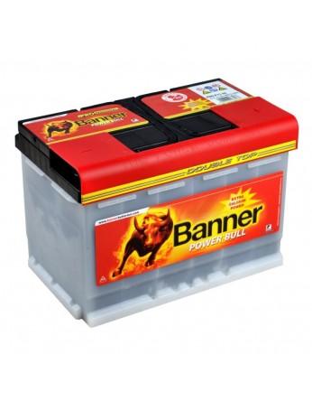 Μπαταρία κλειστού τύπου Banner Power Bull P7540 PRO 12V 75Ah (C20) - 680CCA εκκίνησης