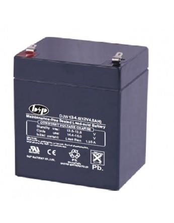 Μπαταρία B&P DJW 12-4.5 VRLA - AGM τεχνολογίας - 12V 4.5Ah (C20)
