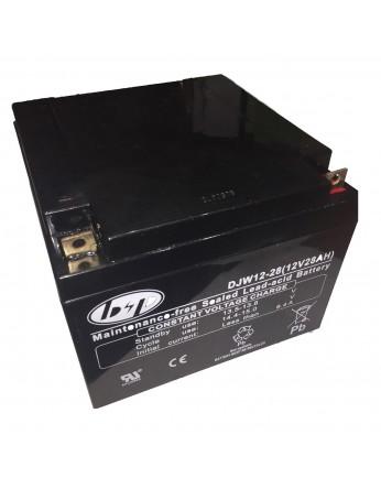 Μπαταρία B&P DJW 12-28(T3) VRLA - AGM τεχνολογίας - 12V 28Ah (C20)