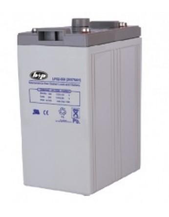Μπαταρία B&P LPS 2-550 VRLA - AGM τεχνολογίας - 2V 530Ah (C20)