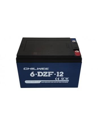 Μπαταρία Chilwee 6-DZF-12 / 6-DZM-12 - AGM τεχνολογίας ηλεκτρικών οχημάτων - 12V 12Ah (C2) / 15Ah (C20)