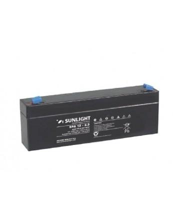 Μπαταρία Sunlight SPA12-2.3 VRLA - AGM τεχνολογίας - 12V 2.3Ah (C20)