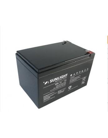 Μπαταρία Sunlight SPA12-12 VRLA - AGM τεχνολογίας - 12V 12Ah (C20)