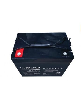 Μπαταρία Sunlight SPB12-75 VRLA - AGM τεχνολογίας - 12V 75Ah (C10)
