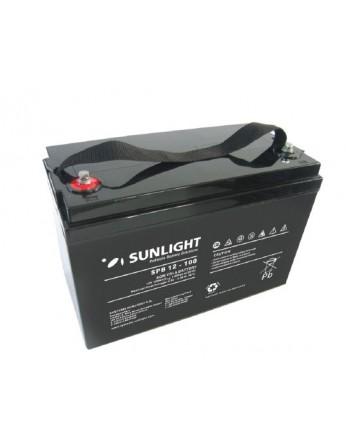 Μπαταρία Sunlight SPB12-100 VRLA - AGM τεχνολογίας - 12V 100Ah (C10)