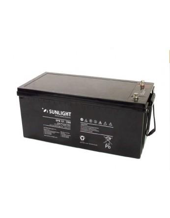 Μπαταρία Sunlight SPB12-200 VRLA - AGM τεχνολογίας - 12V 200Ah (C10)