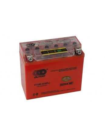 Μπαταρία μοτοσυκλετών OUTDO YT12B-BS IGEL - 12V 10 (10HR)Ah - 210 CCA(EN) εκκίνησης