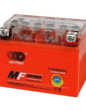 Μπαταρία μοτοσυκλετών OUTDO YTZ5S IGEL - 12V 4 Ah - 65CCA(EN) εκκίνησης