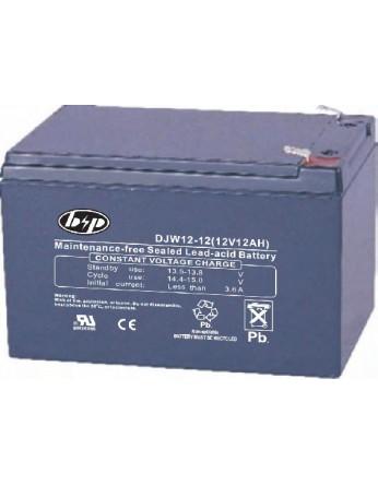 Μπαταρία B&P DJW12-12(T2) VRLA - AGM τεχνολογίας - 12V 12Ah (C20)