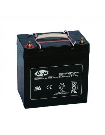 Μπαταρία B&P DJM 12-55(T9) VRLA - AGM τεχνολογίας - 12V 55Ah