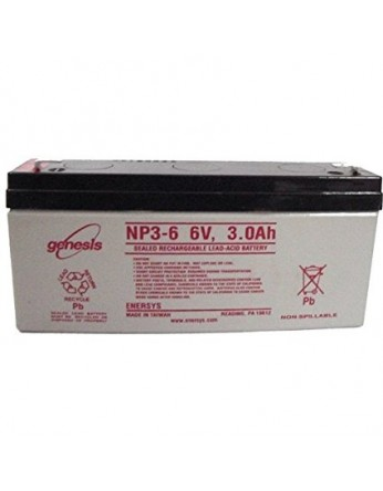 Μπαταρία GENESIS NP3-6 VRLA - AGM τεχνολογίας - 6V 3Ah