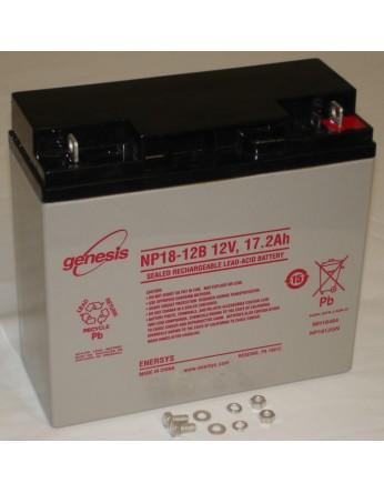 Μπαταρία GENESIS NP18-12FR VRLA - AGM τεχνολογίας - 12V 18Ah Flame Retardant