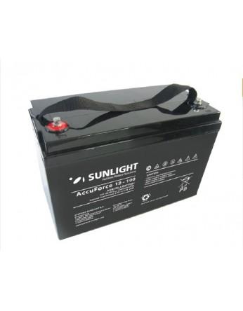 Μπαταρία Sunlight Accuforce12-100 VRLA - AGM τεχνολογίας 12V - 100Ah (C10)