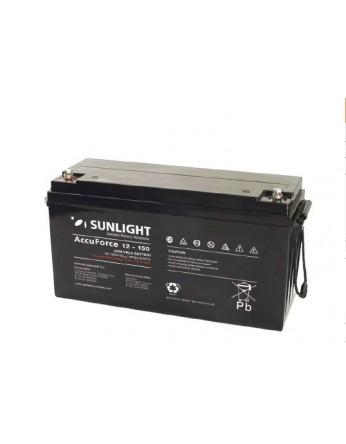 Μπαταρία Sunlight Accuforce12-150 VRLA - AGM τεχνολογίας 12V - 150Ah (C10)