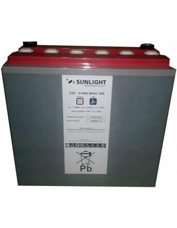 Μπαταρία βαθιάς εκφόρτισης κλειστού τύπου GEL Sunlight 3 RES OPzV 185 - 12V 158Ah(C12)