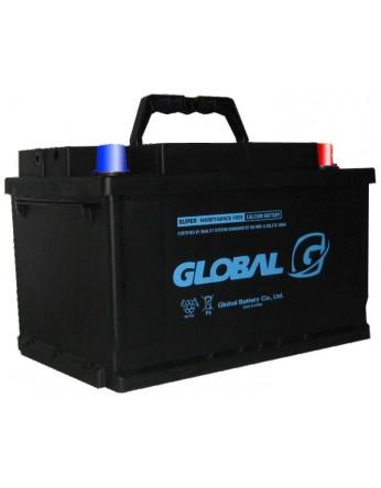 Μπαταρία αυτοκινήτου ευρωπαϊκού τύπου GLOBAL SMF 57539- 12V 75Ah - 680CCA(SAE) εκκίνησης